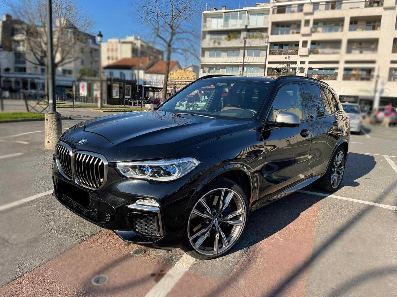 BMW X5 M50D 400ch