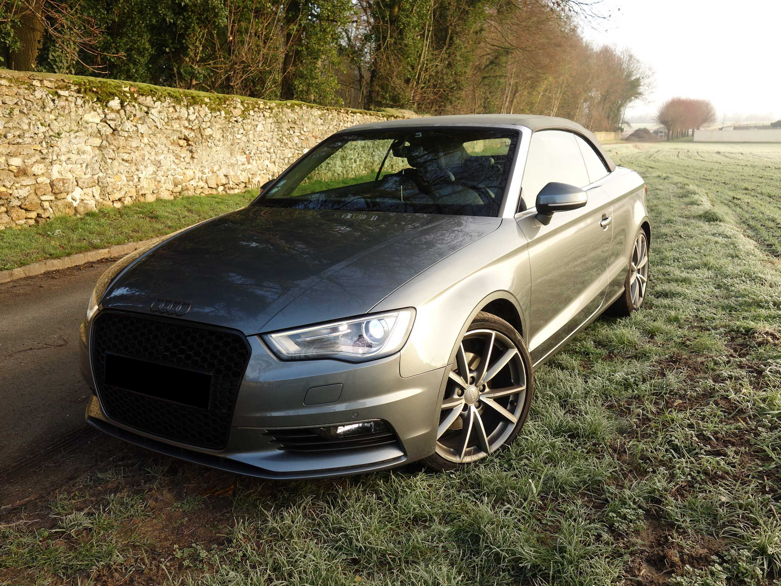 Audi A3 Cabriolet 2.0 TDI 184 S-tronic Quattro Ambition Luxe